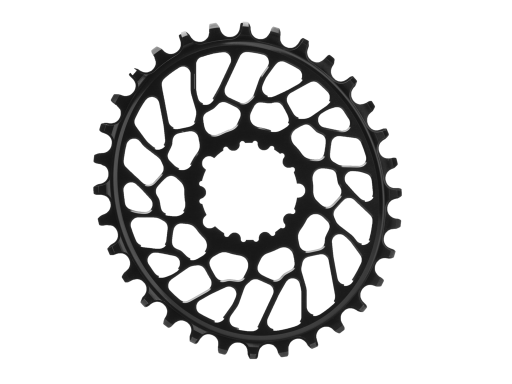 Image of absoluteBLACK Oval klinge - Sram - Direct mount - Offset 0 mm - 30 tænder - Sort