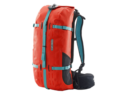 Ortlieb Atrack - Vattentät ryggsäck - Röd - 25 liter