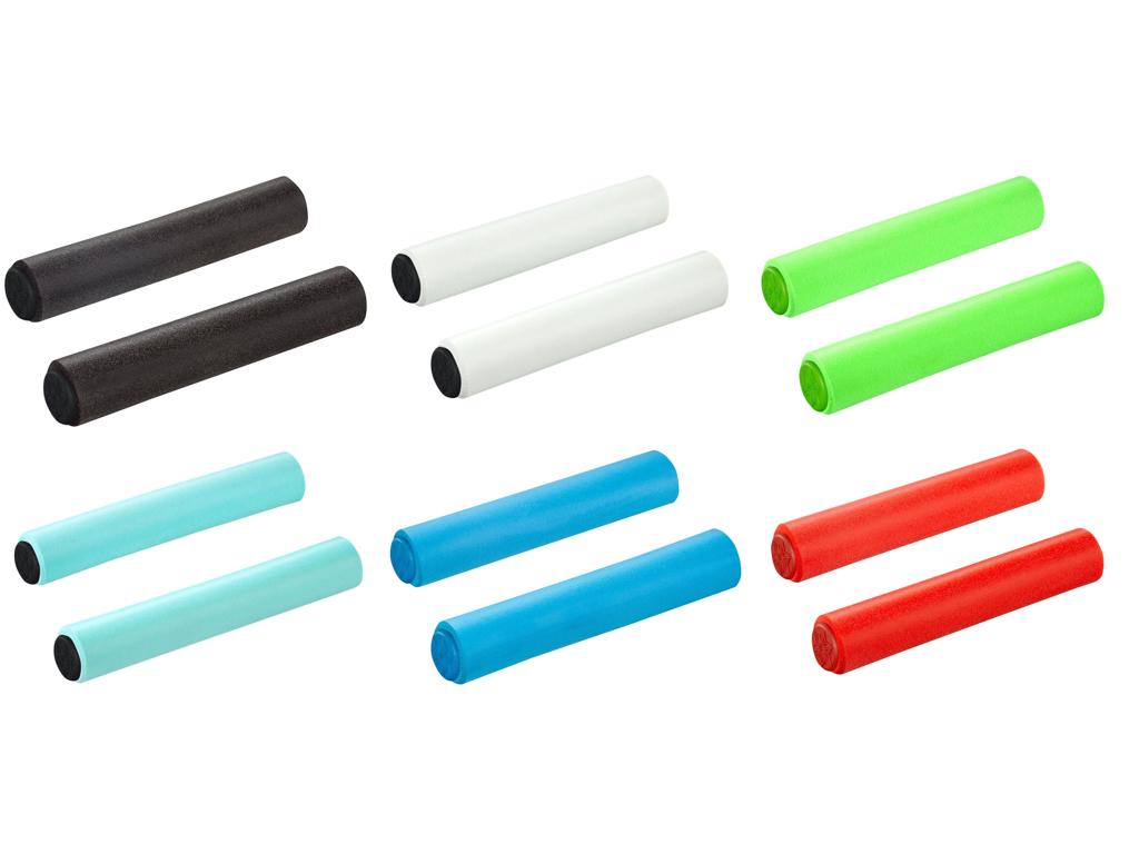 Supacaz Siliconez XL - Handtag - Vitt - 34 mm