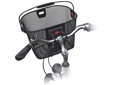 Styradapter KLICKfix til kurv og tasker til styr.