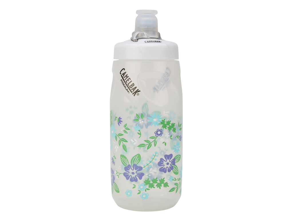 Image of   Camelbak Podium Junior - Drikkeflaske 0,62 liter - 100% BPA fri - Flowers