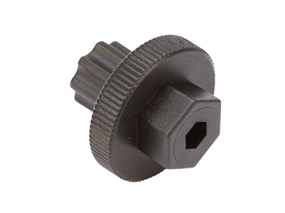 Atredo - krankverktøy - for justering av Shimano pedalarmhetter - svart