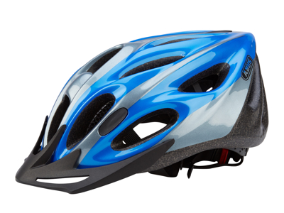 Cykelhjälm Abus Raxtor Zoom blå/silver