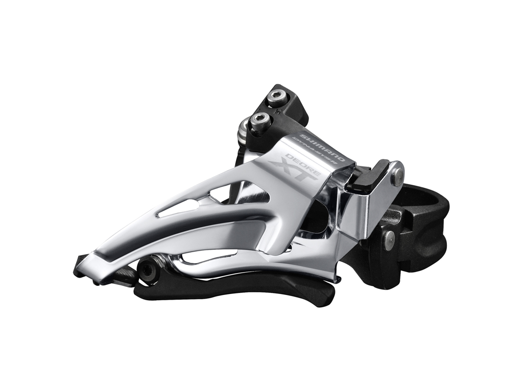 Image of   Shimano XT - Forskifter FD-M8025 - 2 x 11 gear med Low clamp spændebånd - 28,6-34,9mm