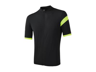 Sensor Cyklo Classic - Cykeltrøje korte ærmer - Sort