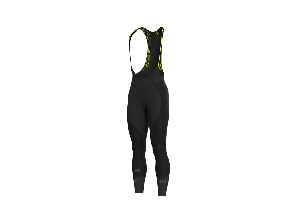 Image of   Alé Nordik Thermovind DWR - Bibtights med seler og indlæg - Sort - Str. 5XL