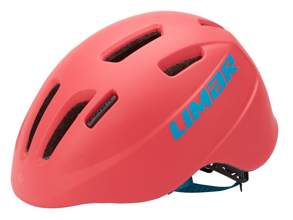 Limar 224 - Cykelhjelm til børn - Str. 46-52 cm - Matpink thumbnail