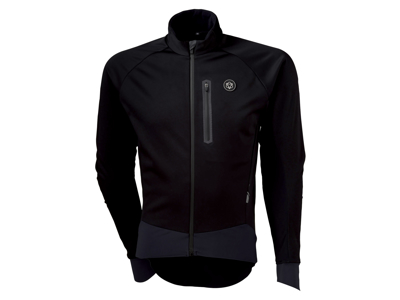 AGU Pro Winter Softshell - Cykeljakke - Herre -Sort