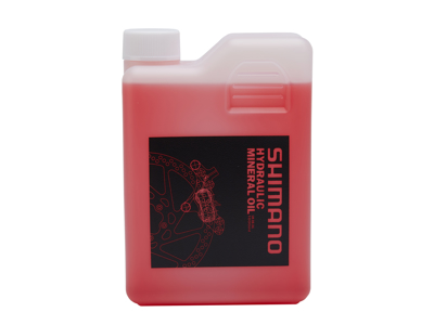 Olje Mineralsk 1 liter rød til Shimano