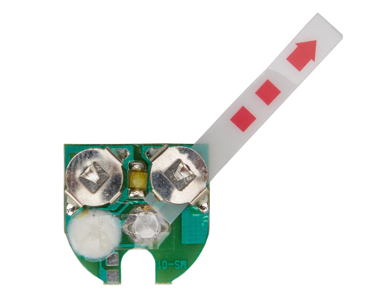 Printplade til forlygte med 1 LED | Front lights