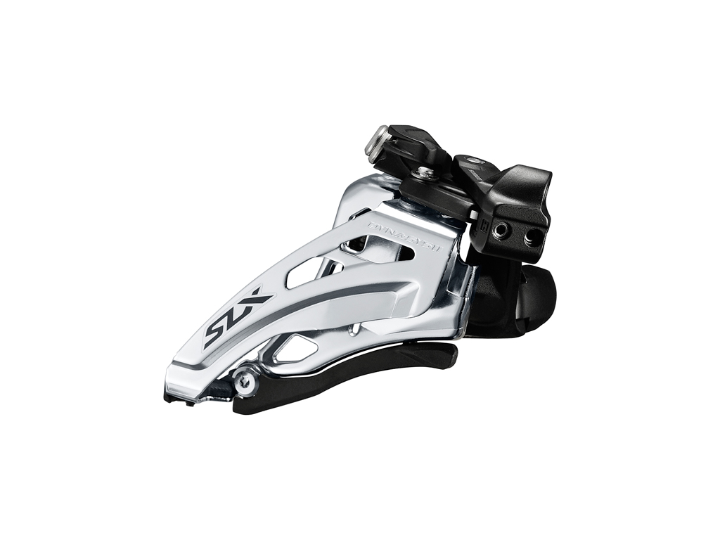 Image of   Shimano SLX - Forskifter FD-M7020 - 2 x 11 gear med Low clamp spændebånd - 28,6-34,9mm