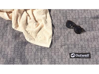 Outwell Chatham 6A - Fladvævet gulvtæppe - Grå