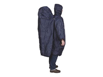 TravelSafe Poncho Zipper Extension - Regnslag med plads til rygsæk