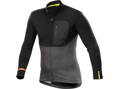 Mavic Allroad Thermo Jersey - Langærmet cykeltrøje - Sort/grå