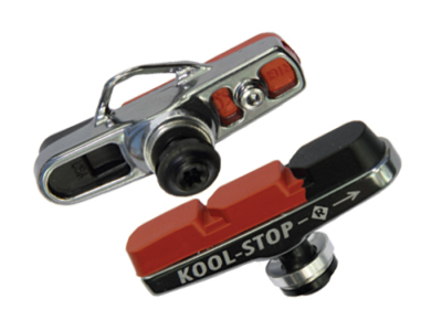 Kool Stop Dura 2 Advance Dual Compound - Bremsesko komplet Road - Campagnolo - Alu.