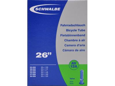 Schwalbe slange 26 x 1,00-1,50 med Auto ventil AV12A