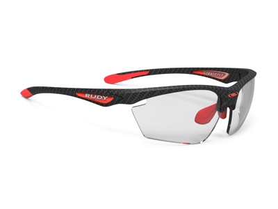 Rudy Project Stratofly - Løbe- og cykelbrille - Impactx Fotokromisk 2 - Carbonium