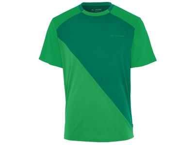 Kortærmet trøje til herrer - Vaude Moab - Grøn