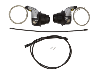 Shimano - Revo skiftegrebsæt 3x6 gear - Til MTB og Citybike