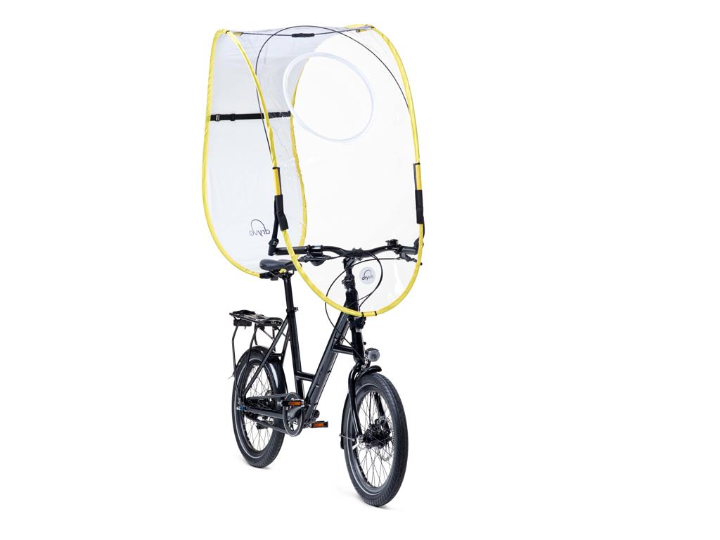 Dryve - vejrbeskyttelse - Hvid/Gul