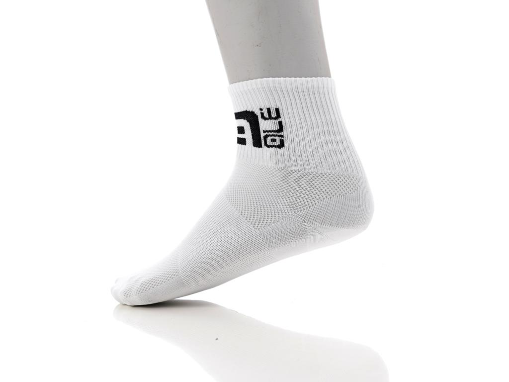 Alé Q-Skin - Ankel strømper - Str. 40-43 - Hvid thumbnail
