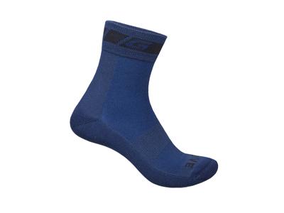 GripGrab Merino Vintersokk - Sykkelsokker - Marineblå