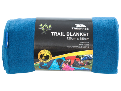 Trespass Snuggles - Matta 120 x 180 cm - Fleece - Cobalt
