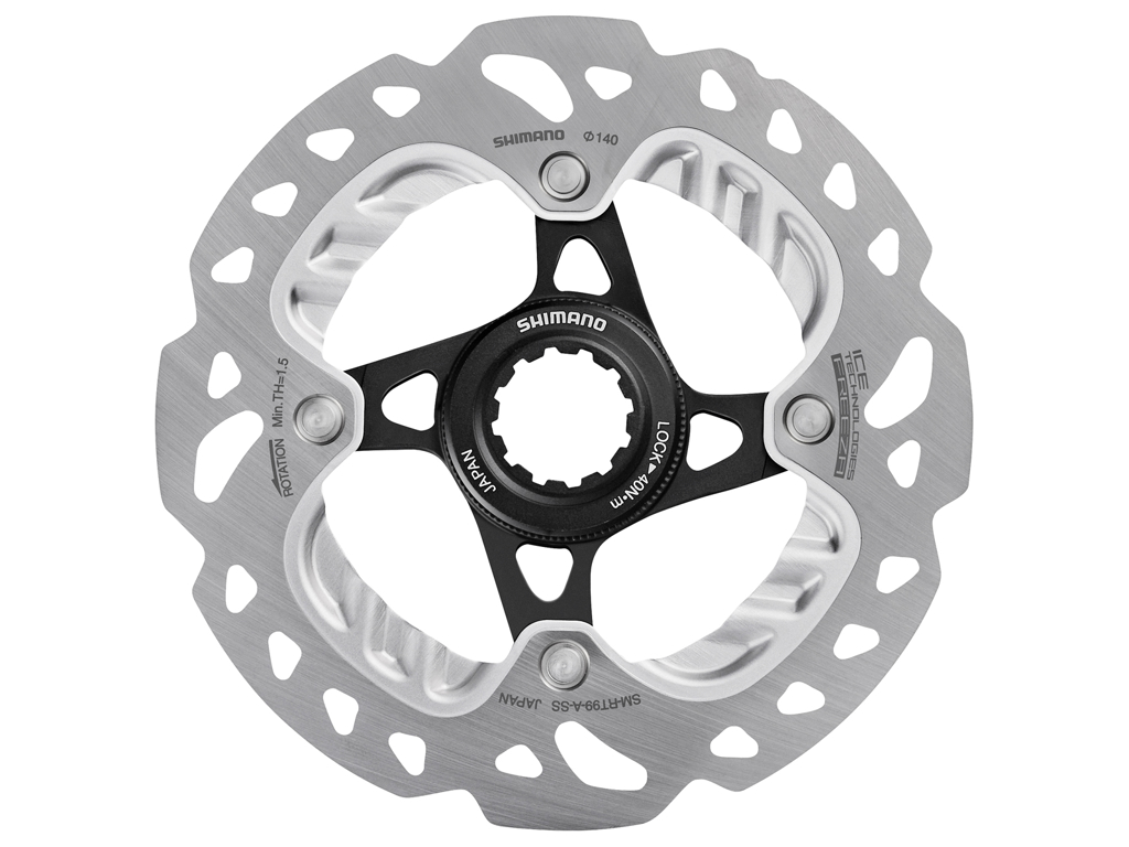 Image of   Shimano XTR/Saint - Rotor til skivebremser 140mm til center lock