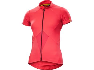 Mavic Sequence Jersey -  Cykeltrøje med korte ærmer - Dame - Rød - Str. XS