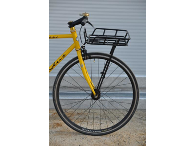 "Bike Partner - Bagagebærer til front - Aluminium - Sort - Max 10 kg. 26""-29"""