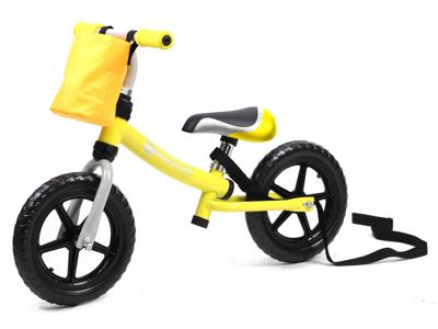Kinderline - Løbecykel - Med EVA foam dæk - Gul