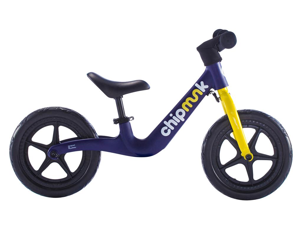 Billede af Chipmunk - Løbecykel - Magnesium - Blå/gul