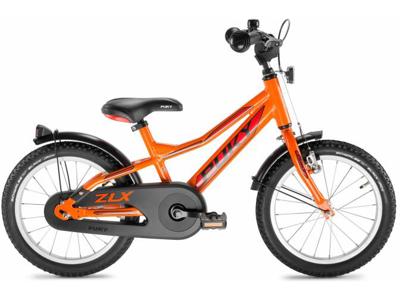 "Puky ZLX 16 Alu - Drengecykel - 16"" - Orange/rød"
