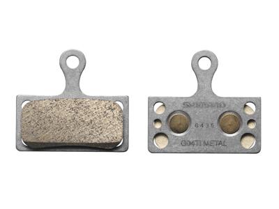 Shimano G04Ti Metal - Bremseklods til XTR/XT/SLX og Alfine skivebremser