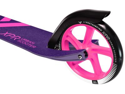 Streetsurfing XPR 205 - Løbehjul med 205mm hjul til voksne - Purple Pink