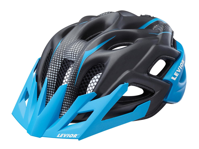 Levior Status Junior - Cykelhjelm str. 52-59 cm - Blå/matsort | Helmets