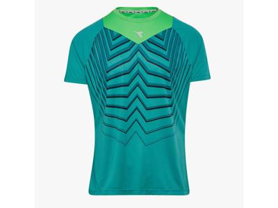Diadora - Bright SS T-shirt - Løbe t-shirt - Herre - Turkis/grøn