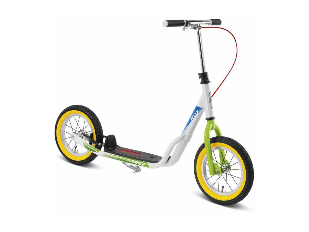 Image of   Puky R 07 L - Løbehjul til børn fra 110 cm - Hvid/grøn