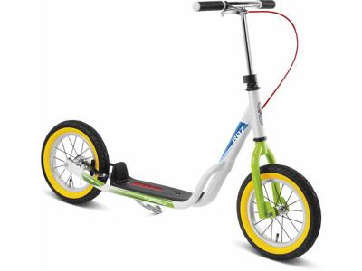 Puky R 07 L - Løbehjul til børn fra 110 cm - Hvid/grøn