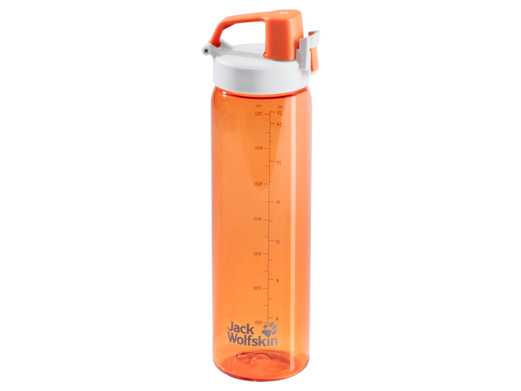 Image of   Jack Wolfskin Tritan - Drikkeflaske - 0,7 liter - Orange crush