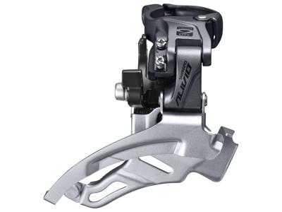Shimano Alivio - Forskifter FD-M4000 - 3x9 gear MTB - Top clamp med bånd - 28,6-34,9mm