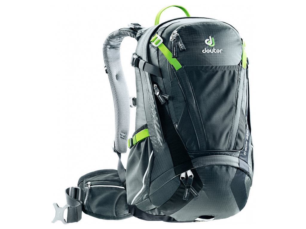 Image of   Deuter Trans Alpine - Rygsæk - Sort/grå - 24 liter