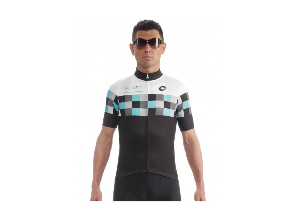 Image of   Assos SS.workteamJersey Evo8 - Sort - Str. XLG