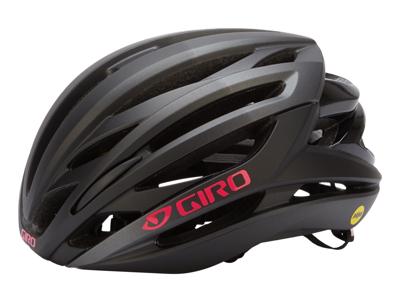 Giro Seyen Mips - Cykelhjelm Woman - Mat Sort/Pink