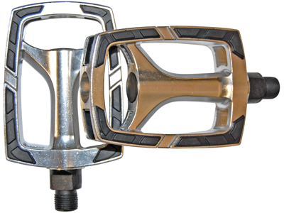 "Bike Attitude - Sport pedal - 9/16"" - aluminium - sølv"