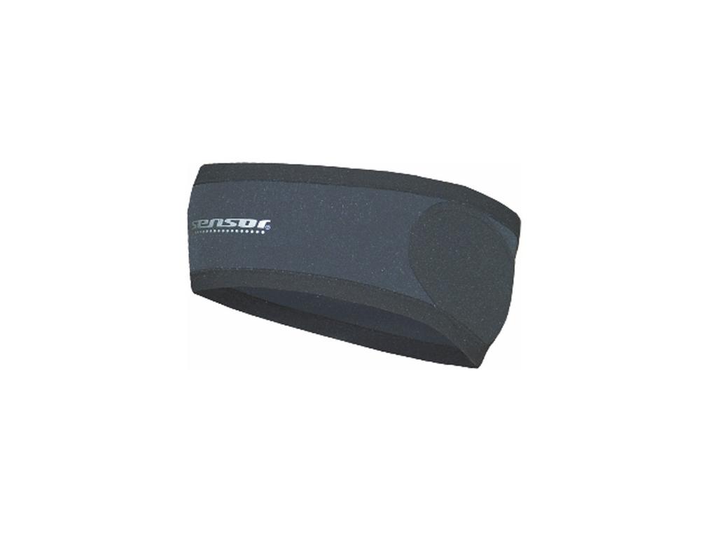 Sensor Pandebånd - Vindtæt front - Sort