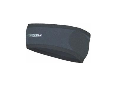 Sensor Pannband - Vindtät front - Svart