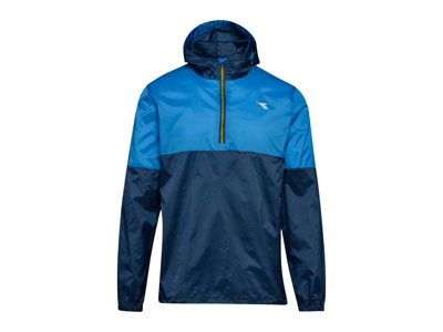 Diadora X-Run Jacket - Running Jacket Men - Blue
