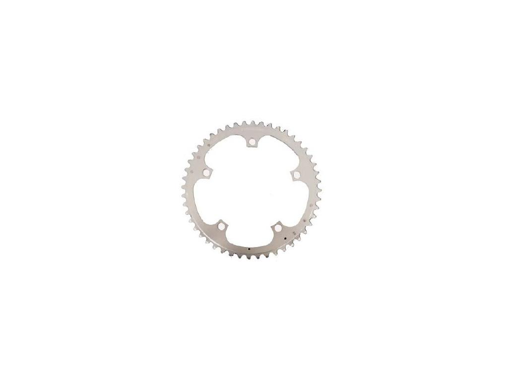 Stronglight klinge - 46 tands - ø135 - 5 huller - 9/10 speed - Zicral alu - Sølv thumbnail