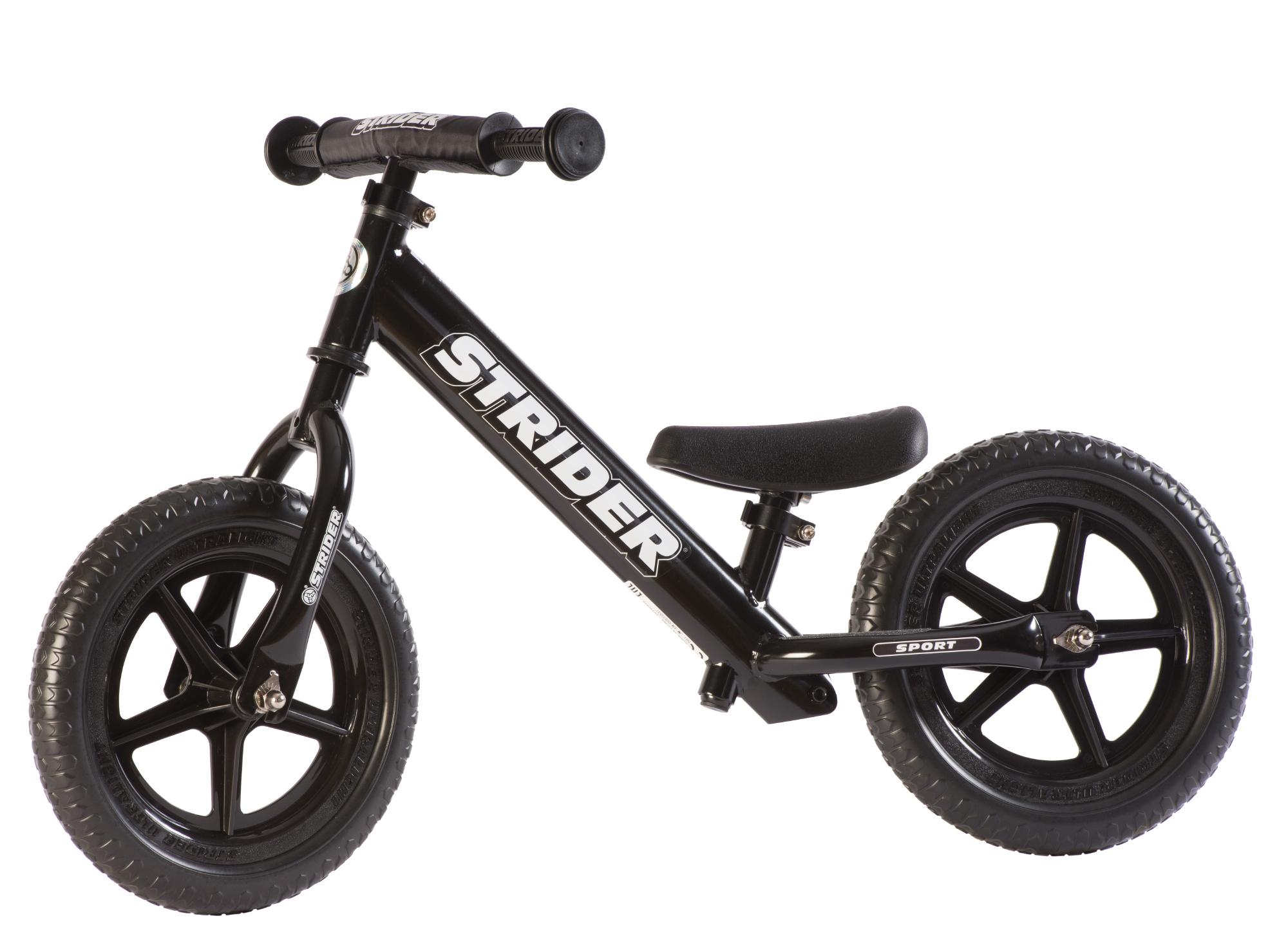 Strider Sport - Løbecykel - Sort | Learner Bikes